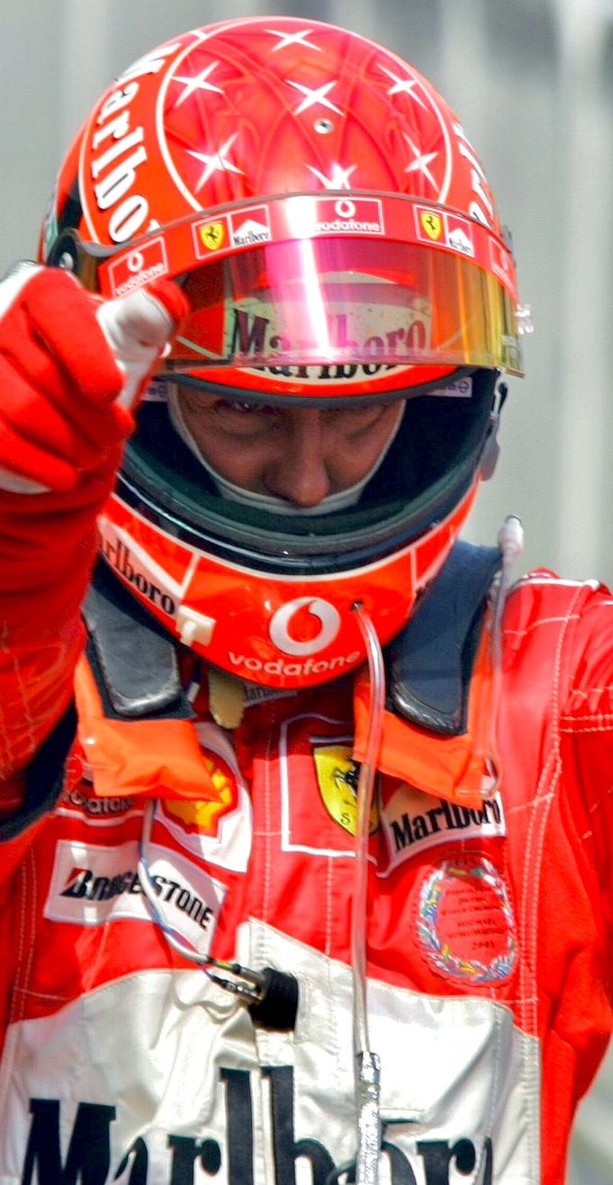 2017/5/30:Twitter:.@F1:#OTD in 2004: Michael Schumacher clocked up a double century of #F1 starts… and celebrated with a win at the European Grand Prix