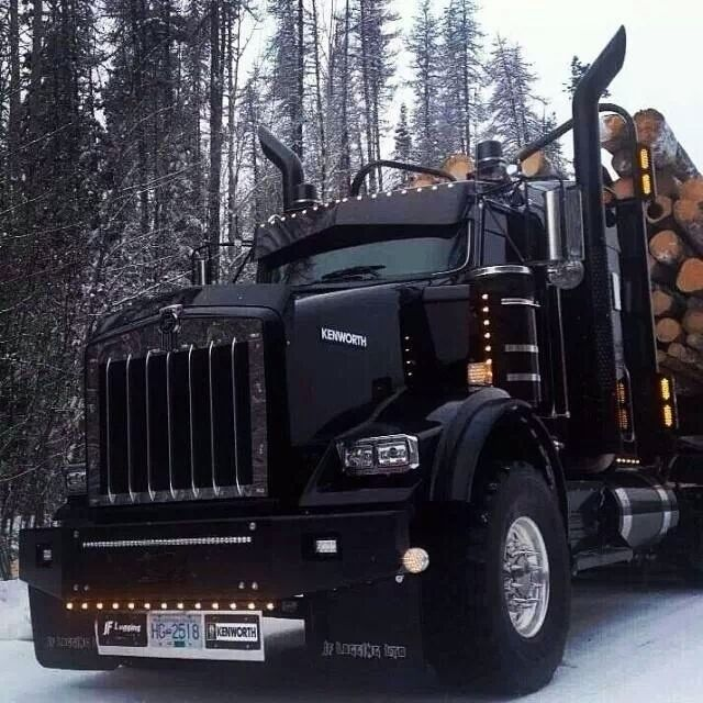 One BAD Kenworth ----> Want more? Follow me at http://www.pinterest.com/TruckSchoolInfo/ where you'll find more than 32,000 pictures & videos of hot sexy babes!