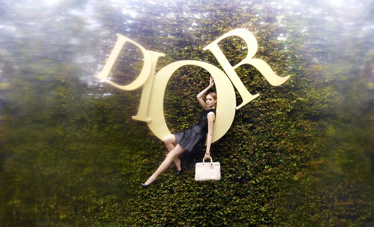 Nimue Smit by Koto Bolofo for Dior Holiday 2012 Catalogue