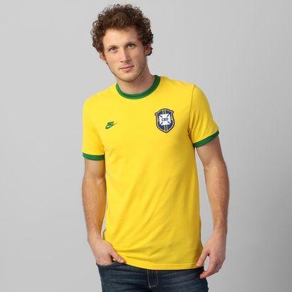 Acabei de visitar o produto Camiseta Nike Seleção Brasil Retrô 2014