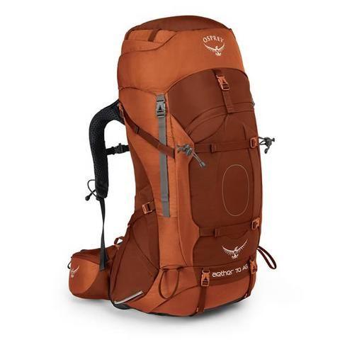 Osprey Aether AG Men's 70 Litre Hiking / Mountaineering Backpack with Raincover