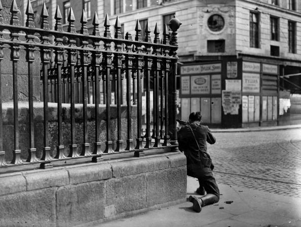 Sniper At The Foot Of Nelsons Column In Dublin News Photo | Getty Images Ireland