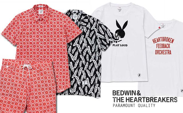 bedwin 2014 spring/summer collection new arrival. BEDWIN 14SS 新作 アロハ柄&ペイズリー柄シャツ ショーツ、Tシャツ 入荷!  http://blog.f420.jp/newarrivals/bedwin-14ss-140502new/