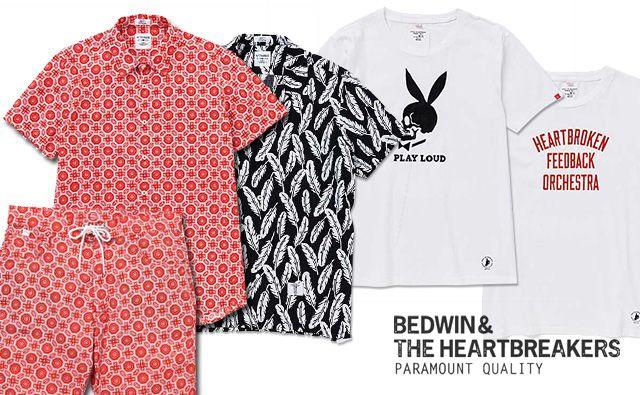 bedwin 2014 spring/summer collection new arrival. BEDWIN 14SS 新作 アロハ柄&ペイズリー柄シャツ ショーツ、Tシャツ 入荷!  http://blog.f420.jp/newarrivals/bedwin-14ss-140502new/