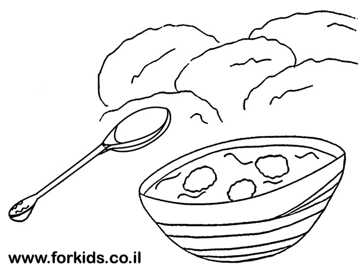 soup and sandwiches coloring pages - photo#18