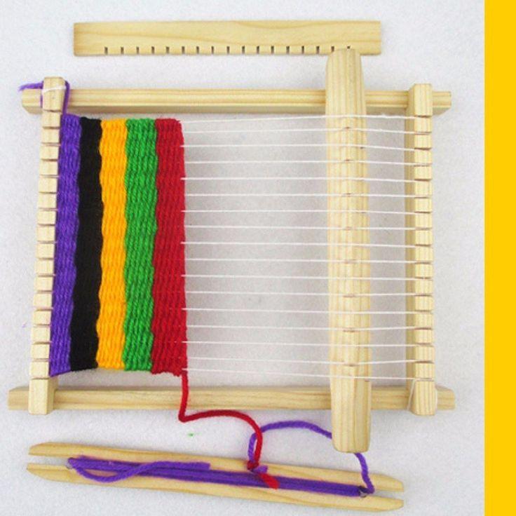 Experimento de niños telar casero equipo del telar de curso del gato avaro experimento científico de niños bo Sale - Banggood Móvil