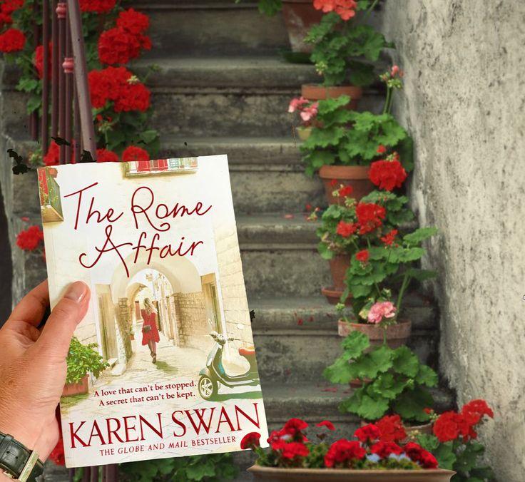 Romance novel set in Rome, and author Karen Swan talks vintage clothes shopping - TripFi...