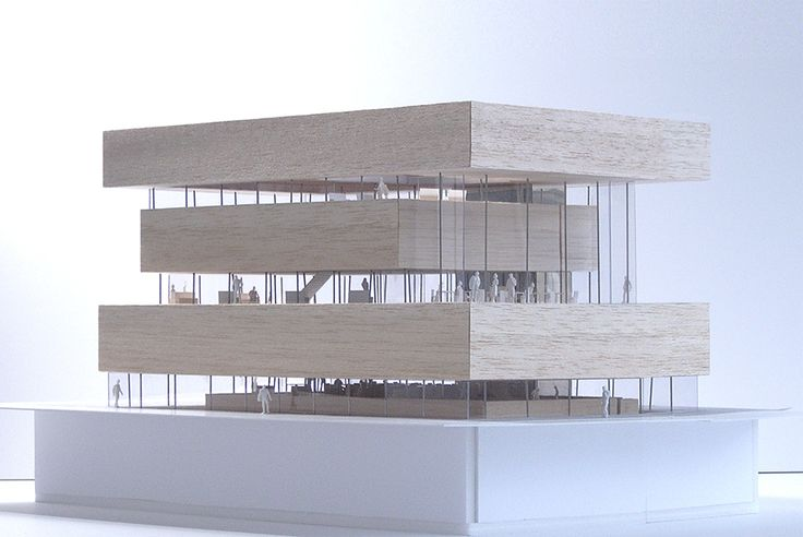 Architectural Model - YUKO NAGAYAMA