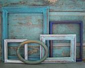 DIY distressed frames