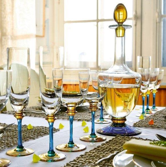 フランス最古のガラスメーカー・クリスタラン サファイアグラス