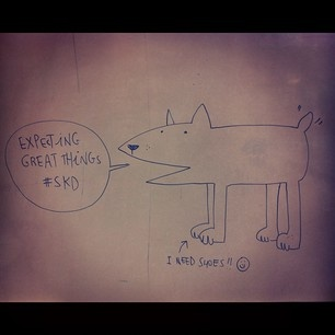 Friendly message from Olivia Villet - illustrator part of our Collective