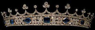 Königliche Juwelen: Saphir Krone von Königin Victoria