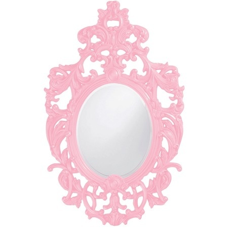 Pink Wall Mirror 40 best mirrored images on pinterest