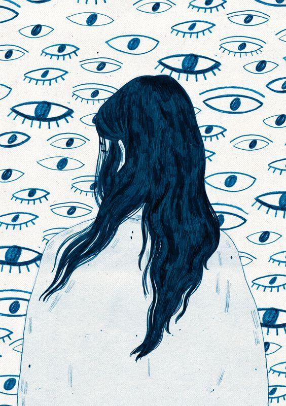 En tus ojos se refleja tu mirada...