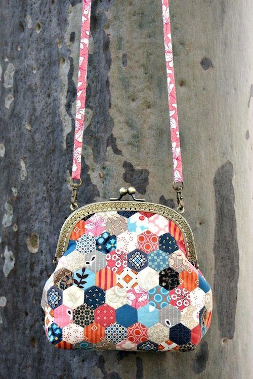 Little hexagon purse by Bloom