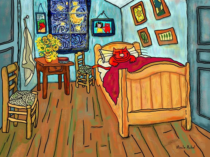 van gogh bedroom in arles - rooms