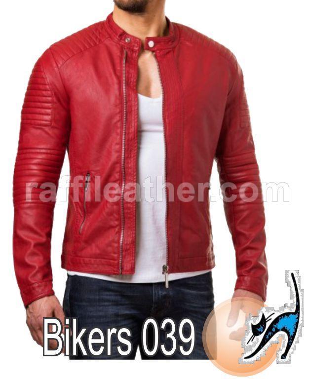 Jaket Kulit Bikers/Motor » Jaket Kulit Bikers 039 • www.raffileather.com Jual Jaket Kulit Asli Garut Murah & Berkualitas #jaketkulit