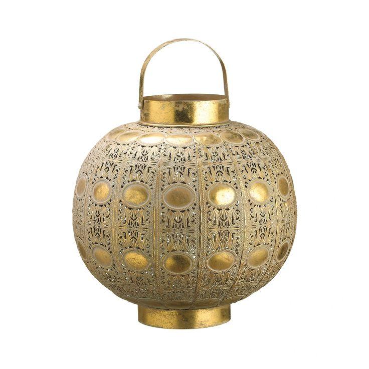 ZELENA | Подсвечник металлический золотой В33 Цена, фото, описание.