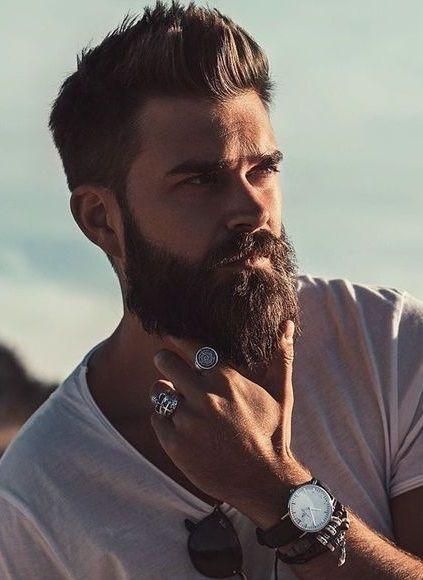 Beard Styles For Men, Hair And Beard Styles, Hair Styles, Great Beards, Awesome Beards, Bart Tattoo, Sexy Bart, Cooler Look, Beard Growth