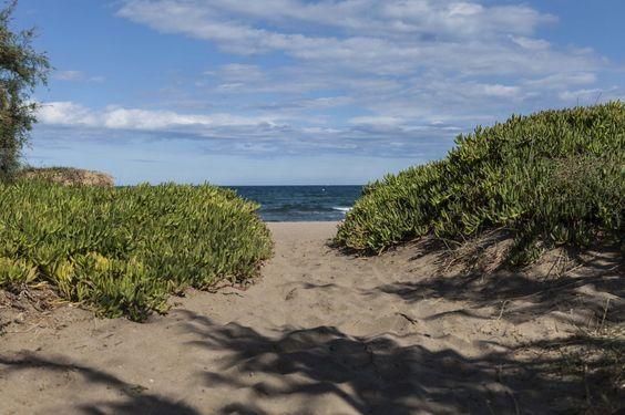 Camping La Ballena Alegre acceso playa