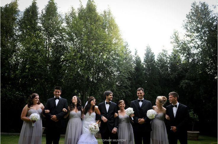 Bridal and bridesmaids bouquets by Decor Mechanics... Chris Munton Photography - Julian and Carli