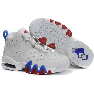 Nike Air Max2 CB 94 Charles Barkley Shoes White/Blue Sport