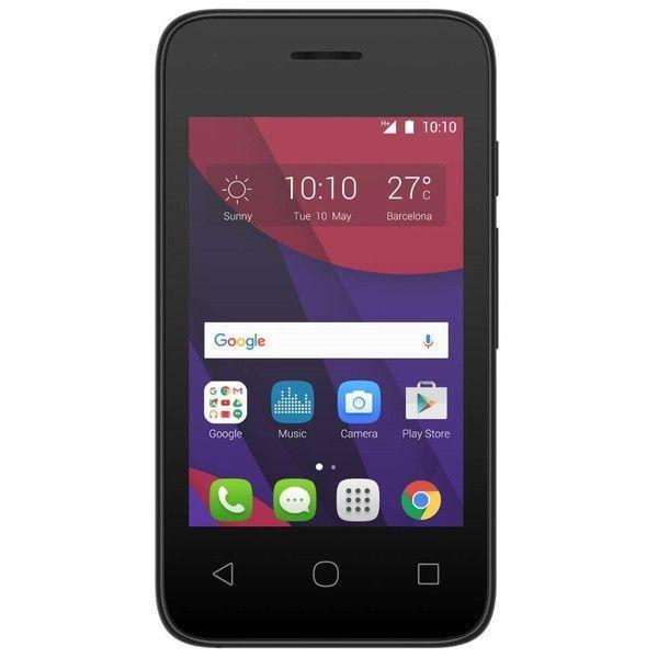 Celular Alcatel Pixi 4 - 4017f Preto   branco, 3g, Dual Chip, 4gb, Tela 3.5  ´ ´, Câmera 5mp, Dual Core 1  SmartphoneAlcatel 8ddb6a5a37