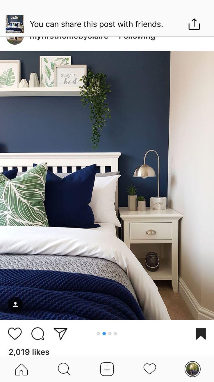 Bedroom inspo Schlafzimmer neu gestalten, Wohnung
