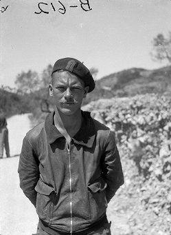 Spain - 1938. - GC - Sergeant Gerald Cook, Lincoln-Washington