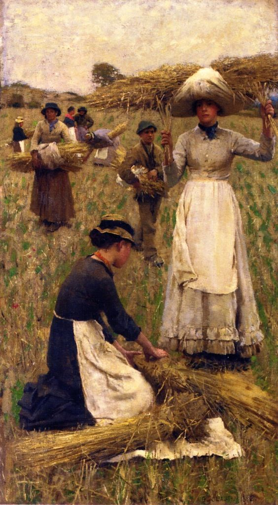 Sir George Clausen - Gleaners