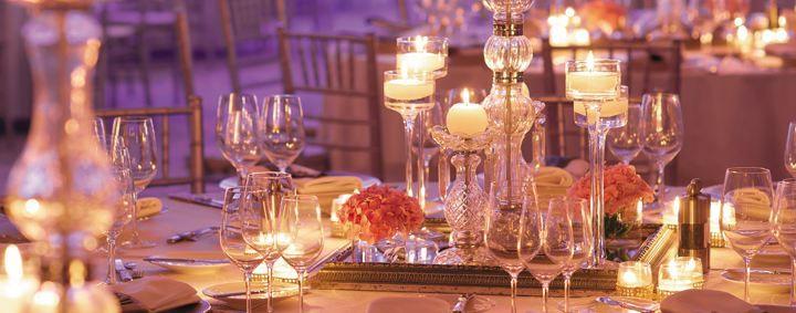 Wedding set-up at Shangri-La's Barr Al Jissah Resort & Spa