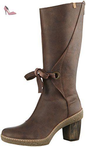 El Naturalista Nf72 Pleasant Lichen, Bottes Cavalières Femme, Marron (Brown N12), 41 EU - Chaussures el naturalista (*Partner-Link)