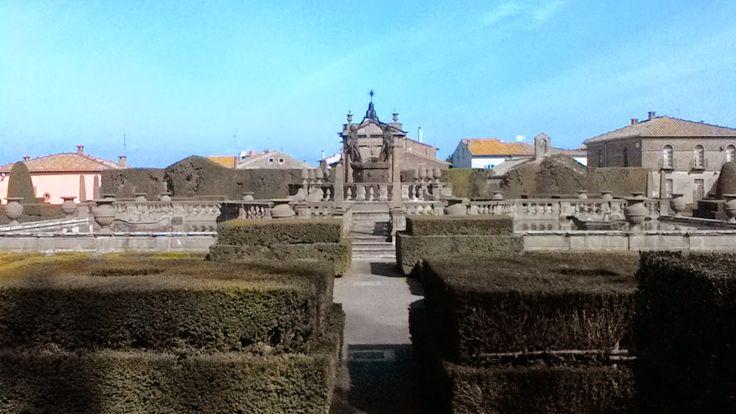 La fontana del quadrato o dei mori, Villa Lante