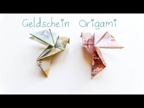 DIY Geldschein Origami Vogel - Geschenkidee, My Crafts and DIY Projects