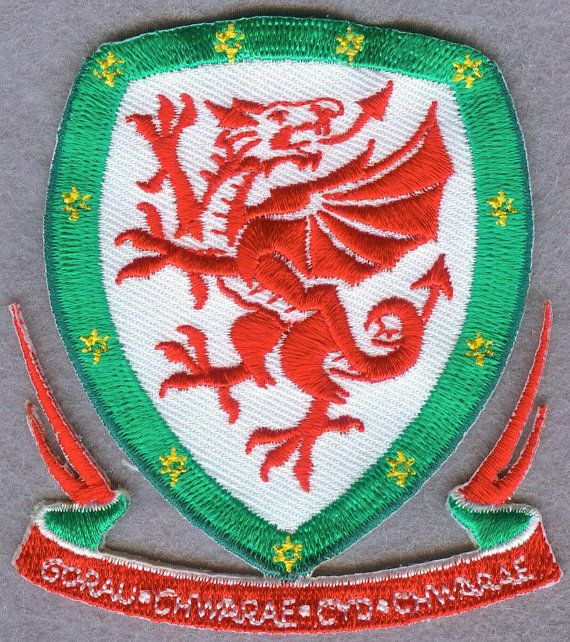 Wales National Football Team FIFA Soccer Badge Patch