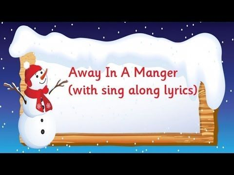 Kidzone - Away In A Manger - YouTube