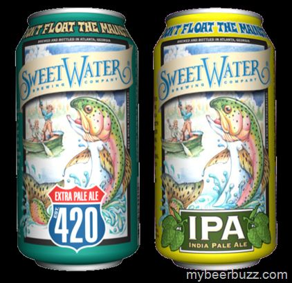 SweetWater - IPA & 420 Coming To 12oz Cans