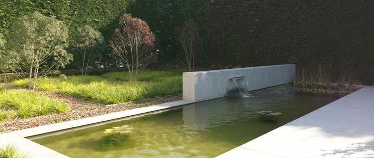 Ecologische zwemvijver tuin pinterest met for Zwemvijver zelf bouwen