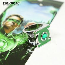 Groene Lantaarn Rvs Ring Sieraden Hoge Kwaliteit Crystal Ring Boxed(China (Mainland))
