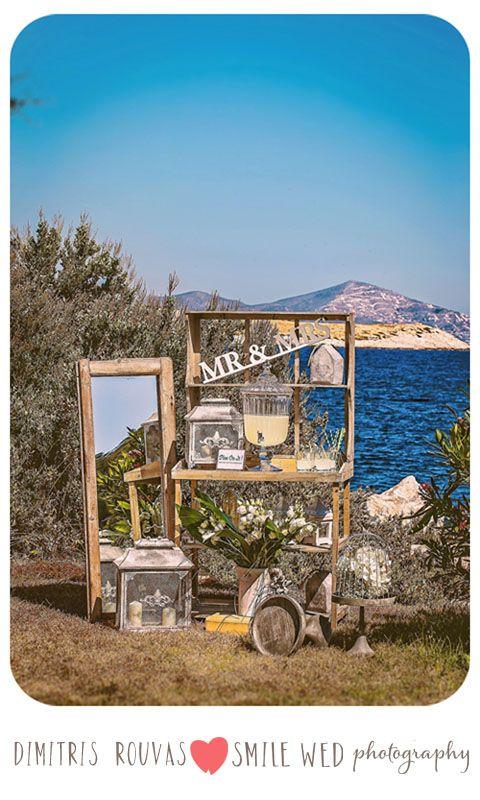 #wedding #summer wedding #athensriviera #wedfingdecoration #lemonade stand #wedding #weddingdecorationphotos#smilewedphotography