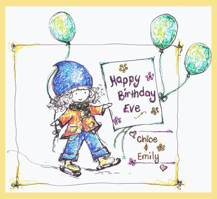 Happy Birthday Eve - Erika Reid Illustrations