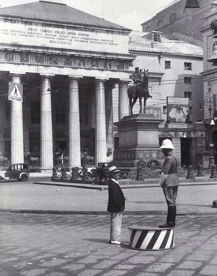 C'era una volta...Piazza De Ferrari - GENOVA