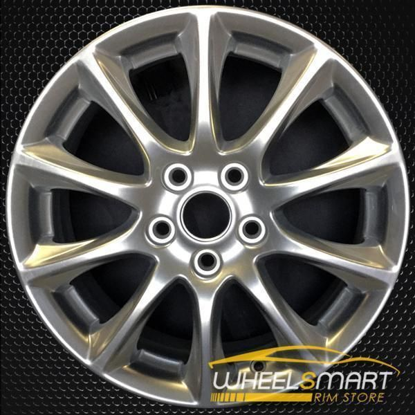 16 Ford Fusion Oem Wheel 2015 2018 Silver Alloy Stock Rim 3983