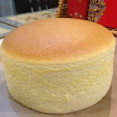 6″ Japanese Cotton Cheesecake, 3 cakes, different temperatures/timing, different results