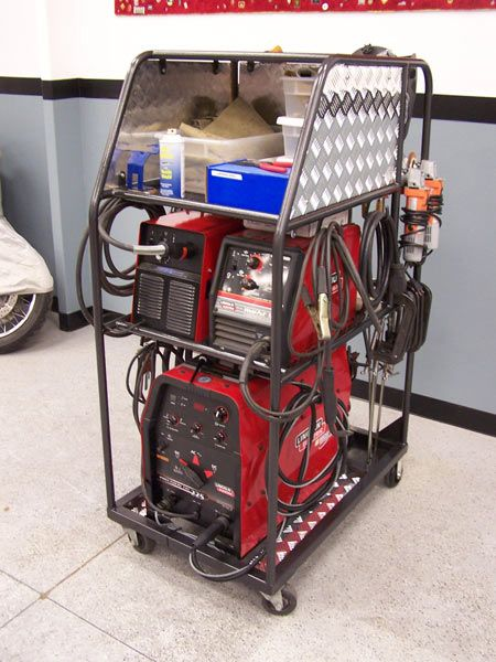 74 Best Images About Welding Carts On Pinterest