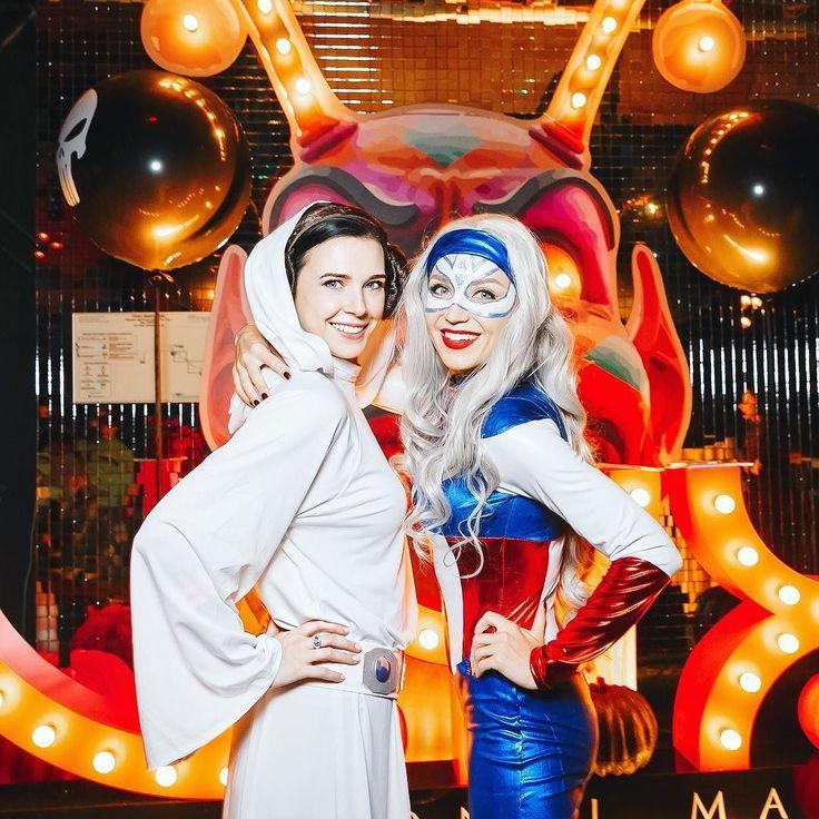Принцесса Лея  Капитан Америка = ккккомбо! #lizaonair #moscow #nyxcosmeticsrussia