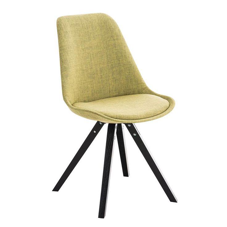 Jídelní židle Damian II., černá podnož (SET 2 ks) - 2