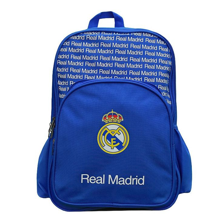 Real Madrid CF Multi-Compartment Backpack, Multicolor