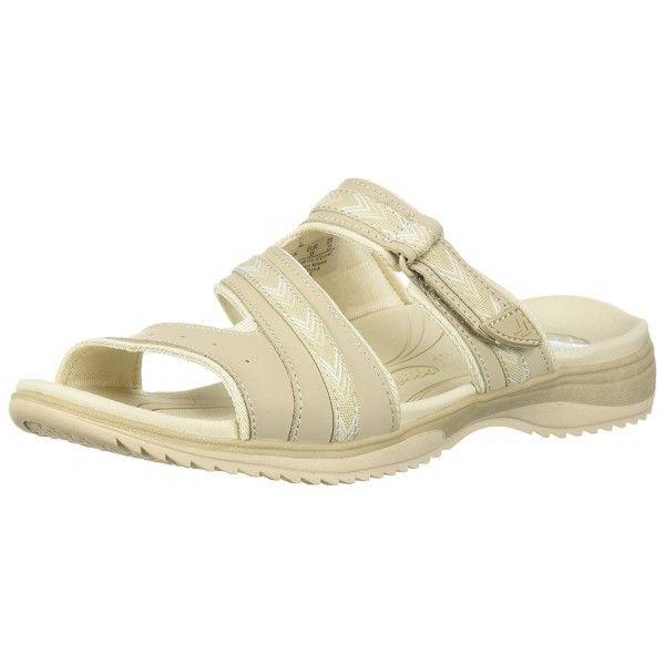 Dr. Scholl's Women's Day Slide Sandal - Taupe Action Leather - C1186AZZWM2  | Women shoes, Womens sandals, Sport sandals