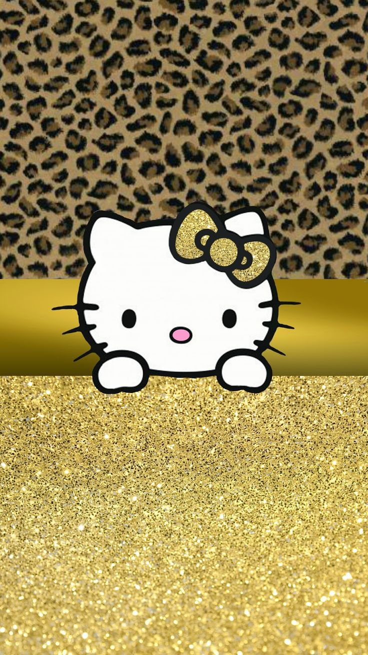 Who android wallpaper pictures of snow free hello kitty wallpaper - Wallpaper Leopard And Hello Kitty Image On We Heart It